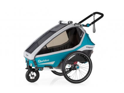 Qeridoo Vozík Kidgoo1 - Petrol Blue