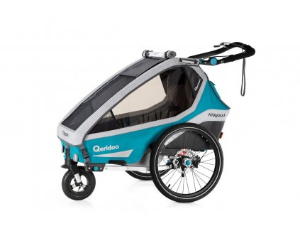 Qeridoo Vozík Kidgoo1 Sport - Petrol Blue