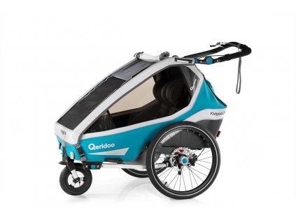 Qeridoo Vozík Kidgoo2 Sport - Petrol Blue