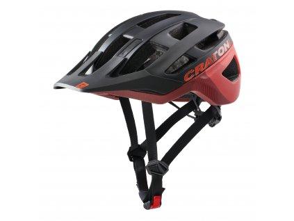 Cratoni AllRace black-red matt