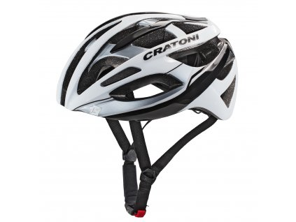 Cratoni C-Breeze white-black glossy