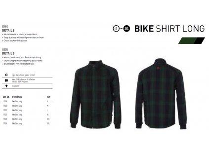 Ghost Košile Pánská - Black / Green