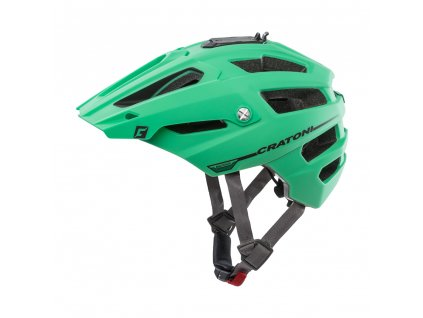 Cratoni ALLTRACK | green-black rubber