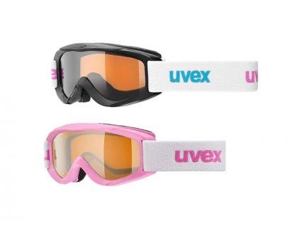lyžařské brýle UVEX SNOWY PRO SET-12 ks, pink+blue/lasergold Množ. Uni