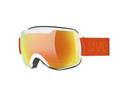 lyžařské brýle UVEX DOWNHILL 2000 CV, white SL/oran-green Množ. Uni