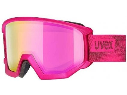 lyžařské brýle UVEX ATHLETIC FM, pink mat/pink-rose (9030) Množ. Uni