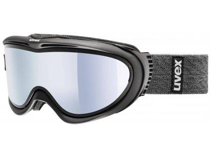 lyžařské brýle UVEX COMANCHE TAKE OFF, black mat/mirror silver/lasergold lite (9326) Množ. Uni