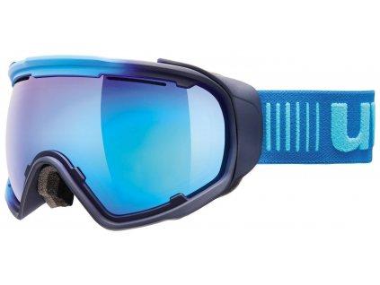 lyžařské brýle UVEX JAKK SPHERE, ice-navy mat/mirror blue (4026) Množ. Uni