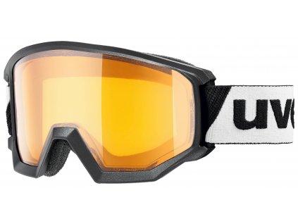 lyžařské brýle UVEX ATHLETIC LGL, black dl LGL-clear (2230) Množ. Uni