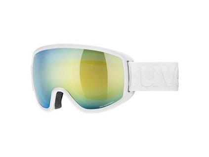 lyžařské brýle UVEX TOPIC FM, white dl/orange blue (1030) Množ. Uni