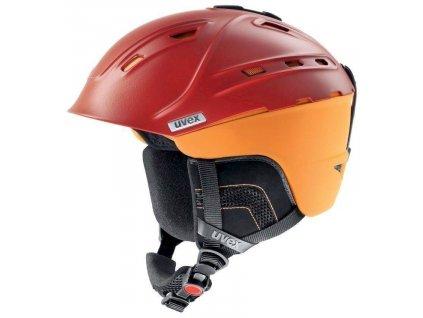 helma UVEX P2US, blood-orange mat (S566178300*) 51-55