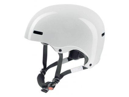 helma UVEX HLMT 5 RADICAL, white shiny (S566148110*) 52-55