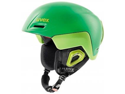 helma UVEX JIMM OCTO+, green-lemon mat (S566205320*) 52-55