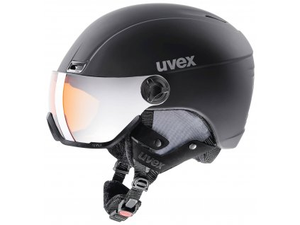helma UVEX HLMT 400 VISOR STYLE, black mat (S566215200*) 53-58