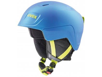 helma UVEX MANIC PRO, blue-lime mat (S566224460*) 51-54