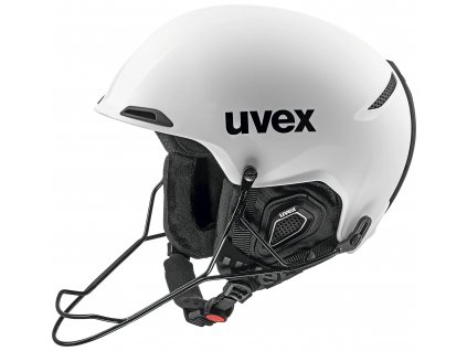 helma UVEX JAKK+ sl, white mat (S566220100*) 59-62