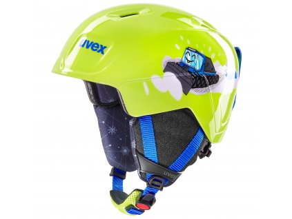 helma UVEX MANIC, lime caterpillar (S566226610*) 46-51