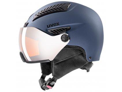 helma UVEX HLMT 600 visor, blue mat (S566236400*) 59-61
