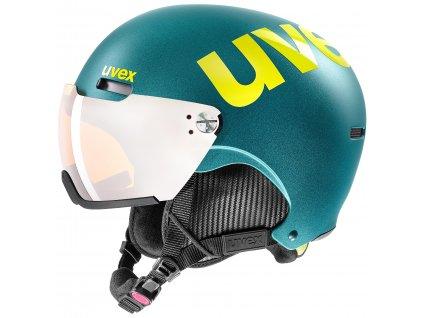 helma UVEX HLMT 500 visor, deep emerald mat (S566213600*) 59-62