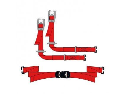 Batoh-doplňky Mountain Equipment Hammerhead Ski Strap (x4)