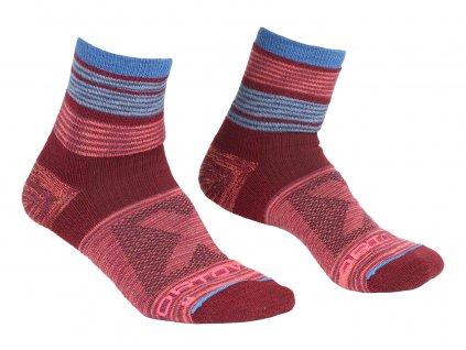 Ponožky Ortovox W's All Mountain Quarter Socks Warm