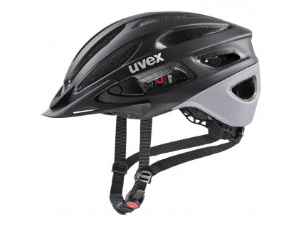 2021 UVEX HELMA TRUE CC, BLACK - GREY MAT 52-55