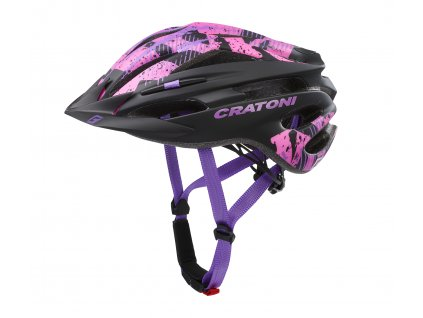 Cratoni PACER JR. - black-pink matt