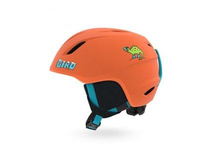 GIRO Launch Mat Deep Orange Dino