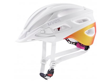 2021 UVEX HELMA TRUE CC, WHITE - PEACH MAT 52-55
