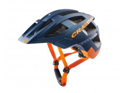 Cratoni AllSet blue-orange matt