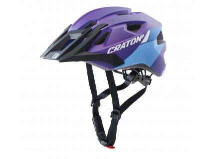 Cratoni ALLRIDE - purple-blue matt