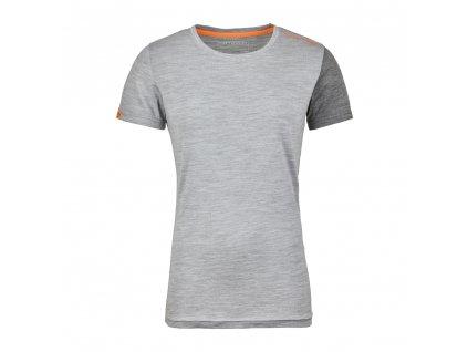OUTLET - Termoprádlo Ortovox W's 185 Rock'n'Wool Short Sleeve