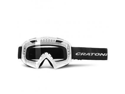 Cratoni C-Rage white glossy