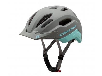 Cratoni C-CLASSIC - stone-iceblue matt