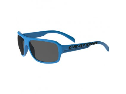 Cratoni C-Ice Jr. blue glossy