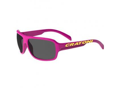 Cratoni C-Ice Jr. pink glossy