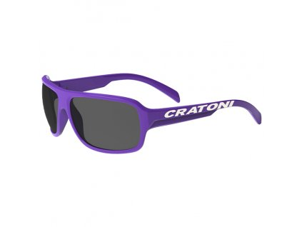 Cratoni C-Ice Jr. purple glossy