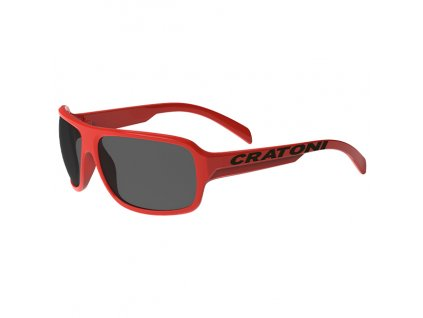 Cratoni C-Ice Jr. red glossy