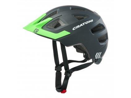 Cratoni Maxster Pro black-neongreen matt