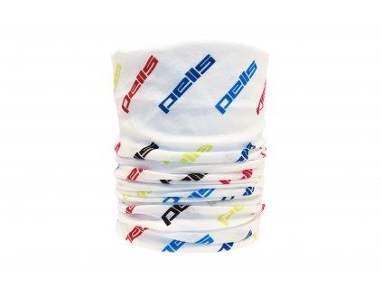 PELLS multifunkční šátek bílý