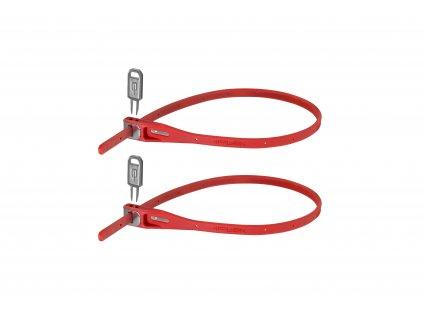 HIPLOK Z LOK TWIN PACK - RED (ZLK2RD) Množ. Uni