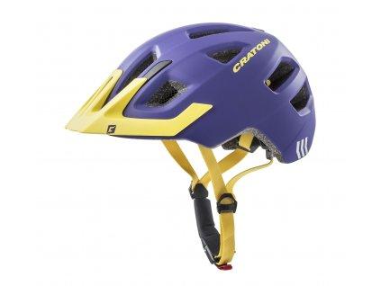 Cratoni MAXSTER PRO - purple-yellow matt