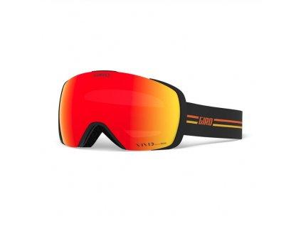 GIRO Contact GP Black/Orange Vivid Ember/Vivid Infrared (2skla)