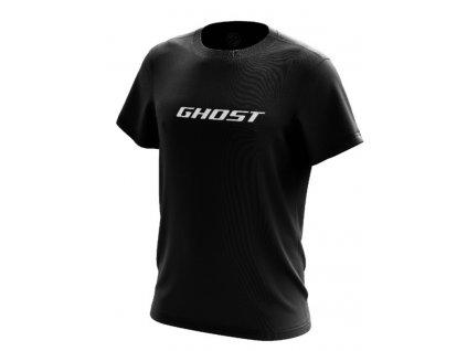 Ghost Triko Logo GHOST - Black / White