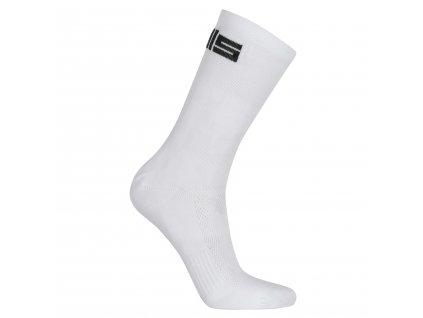 Ponožky PELLS Logos White/Grey