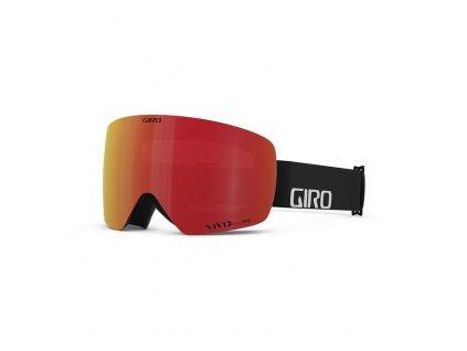 GIRO Contour RS Black Wordmark Vivid Ember/Vivid Infrared (2skla)