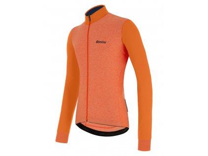 Colore Winter Dres Fluo Orange