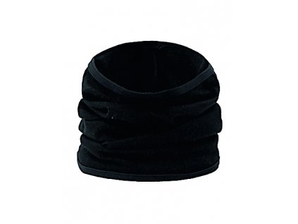 Wool Multiuse Nákrčník Black