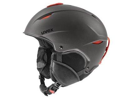 helma UVEX PRIMO, dark slate orange mat 52-55