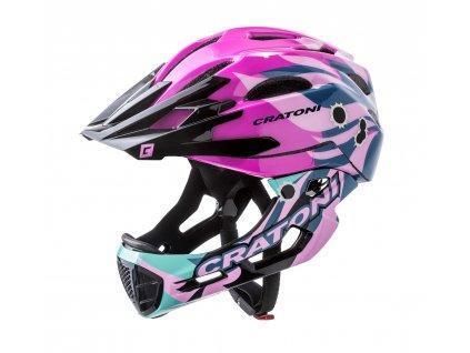Cratoni C-MANIAC Pro - pink glossy